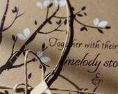 Handmade Wedding Invitations cherry blossom Lace Handmade Rustic Wedding Invitations wood heart-rustic wedding hand stamped - sample