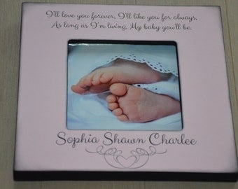 Personalized Memorial Frame, Miscarriage Frame, Infant Loss Gift in Memory of, In Remembrance Frame, Personalized Angels