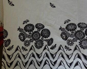 "Vintage Harwood Steiger Fabric ""Idyll"" Pattern,  4.5 YARDS"