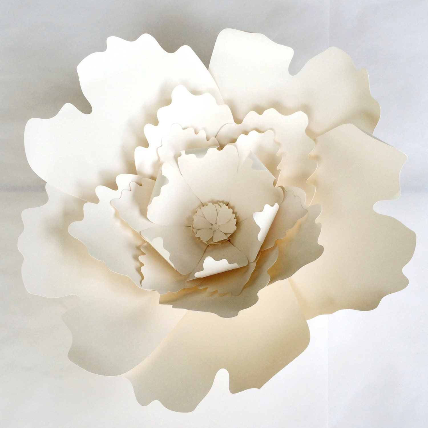 Large flower wall decor : Paper flower wall decor large by paperflora