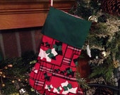 Scotty dogs stocking