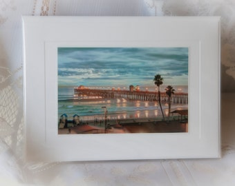 Greeting Card-Oceanside Pier