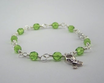 Non-Hodgkin Lymphoma Awareness Bracelet