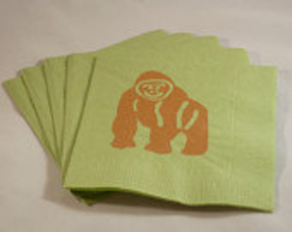 Custom Order for JewelrybyMagpie - Zoo Animal Paper Cocktail Napkins