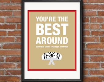 Karate Kid Quote Movie Poster / Wall Art / Print