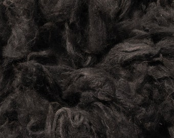 Bay Black Alpaca Fleece