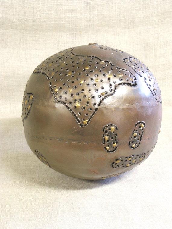 Metal ball decorative handmade large globe