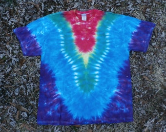 Tie Dye - Tshirt - Short Sleeve - Adult - Xtra Large - Hippie - Clothing - Grateful Dead - Inspired