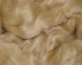 Baby Camel - Tussah Silk Glorious Spinning Felting or Dyeing fiber