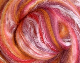 Sunset Merino Silk Blend Ashford Spinning and Felting