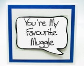 Funny Boyfriend Card. Harry Potter Card for Boyfriends. Love You Funny Harry Potter Card. Funny Valentine Card. MN199