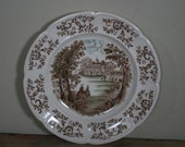 vintage mount vernon dinner plate windser ware by johnson brothers england