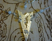 Hare silver Jewellery Necklace, SquareHare, UK, Free Postage, Vegan, wedding