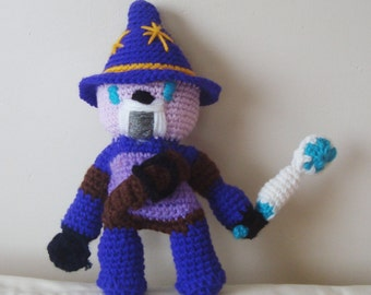 Sparlock Toy The Warrior Wizard - Handmade Kids Gifts for boys Toy - Purple - birthday gifts for kids, pre teen gift
