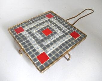 Mid Century Mosaic Tile Trivet