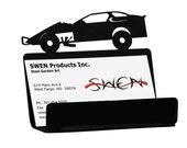 Modified Dirt Late Racer Car Racing Metal Business Card Holder