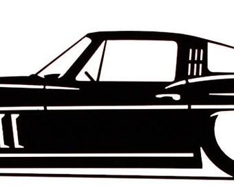 Farrell Chevy Corvette Auto Car Mail Box Topper