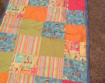 Girly Girl Colorful Quilt