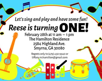 Sing and Play and Have Some Fun Birthday!