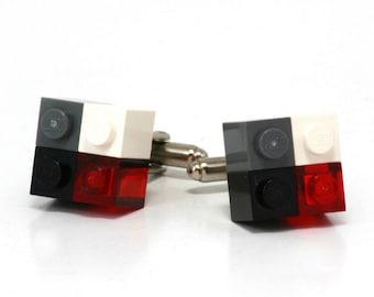 4-pack cufflinks OSAKA made with LEGO® bricks
