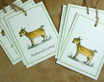 Year of the Goat Year of the Sheep 2015, Chinese New Year. Gift Tags, Goat Tags, Sheep Tags, Quantities 6-12