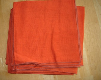 Personalized Linen Napkin Set