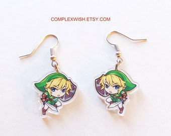 The Legend of Zelda earrings - Link