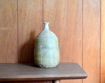 vintage large mid century studio pottery vase