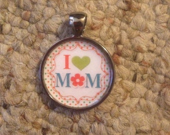Mother's Day Image Pendant Necklace