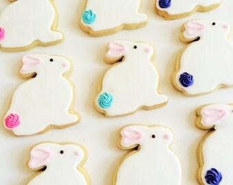 EASTER Bunny Cookies (1 dozen)