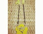 Birds pendant necklace