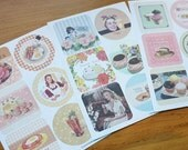 48 Design Recipe Coster Label Stickers - Vol. 1 (6.7 x 10in)