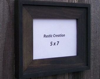 5 x 7 Deluxe Picture Frame Ebony Finish