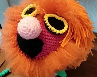Crochet Mahna Mahna Hat