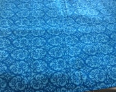 "Waterproof, Absorbent, Reusable Puppy / Potty Pad - 18 x 24"" - Blue Wrought Iron -Last one"