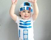 Robot Toddler Halloween Kids Costume