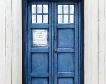 TARDIS POLICE BOX Phone case for iPhone and Galaxy