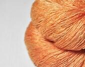 Too much Aperol Spritz  - Tussah Silk  Lace Yarn