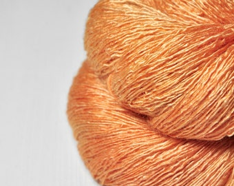 Too much Aperol Spritz  - Tussah Silk  Lace Yarn
