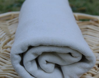 Hemp Jersey Knit Fabric Natural-  by the yard