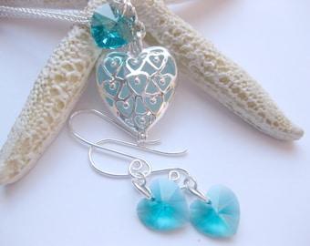 3 Sets of Sea glass Wedding Jewelry Seaglass bridesmaid Necklace beach theme weddings Handmade Custom Jewelry