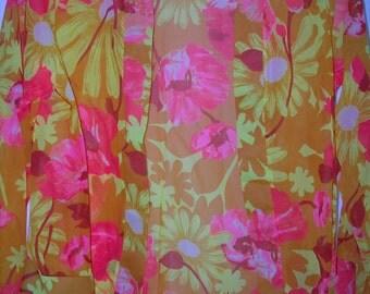 vintage semi transparent floral jacket