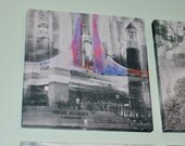 Purdue University Campus - Indiana Photography Collage Print on Canvas