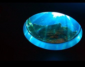 "Window Water Aquarium Sun Photography Wall Art ""Hole in the Sky"""