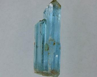 80.3 cts blue aquamarine terminated crystal specimen vietnam