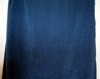Dark Blue Soft Suede Fabric Sueded Rayon?