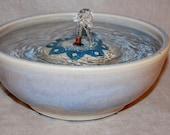 "Cat Fountain - Pet Fountain - Indoor Fountain - 10 Inch Diameter ""PinWheel"""