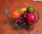 REDUCED!  Recycled Wine Jug Fruit Bowl
