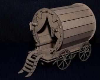 Gypsy Pot wagon kit - DIY build a Miniature wagon