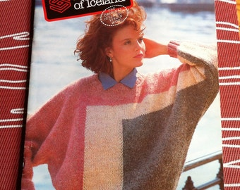 1994 Samband of Iceland sweaters 20 patterns man woman child knit Icelandic